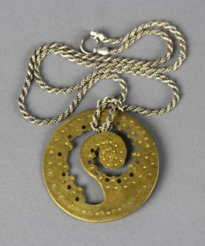 Tentacle Pendant by fluffys-inu