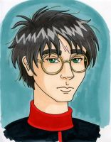 Harry Potter COLOR by crzydemona