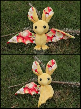 FOR SALE: Apple Fruit Bat by A-chan--Creations