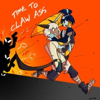 Skullgirls Fanart-Great Escape by Inkblot-Rabbit