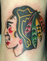 Blackhawks Tattoo by tstctc