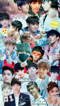 Collage S.Coups (Seventeen) by Shelf-4ever
