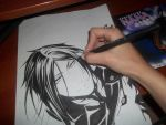 Sebastian Michaelis by Vick1234