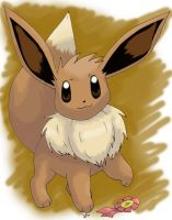 7th Fav PKMN-Eevee by PachirisuLuva