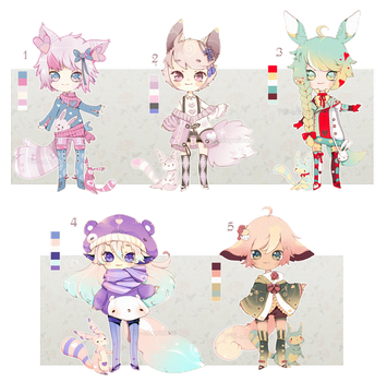 [CLOSED] ADOPT AUCTION 47 - Love PET Boy by Piffi-adoptables