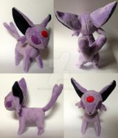 Espeon Plush by Pannsie