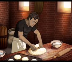 The Baker by Ciorane