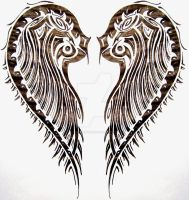 tribal wings by SwarzezTier