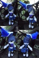 Collab Project!! Amigurumi Ciel Phantomhive, Smile by ThePlushieLady