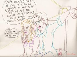 True Blood: wrong date movie by greenfairy87