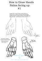 How to draw hands Palms Up 1 by ArticTiger
