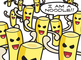 I AM A NOODLE by tawamureru