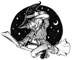 The Witch Wallis by SirenFeather