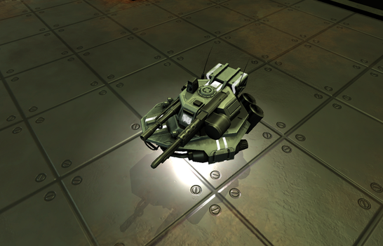 Caution : Falling tanks - Technobot (pre alpha) by nicolarre