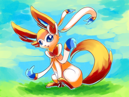 Sylveon Painting by Togechu