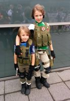 Resident evil BSAA cosplay 2 by taresh