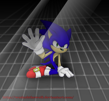 Sonic:Too weak -without blood by WodashTheWolf