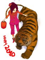 year of tiger 2010 by angeloluha