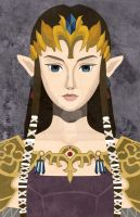 Faux-Paint Zelda by ever-so-excited