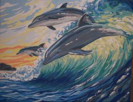 Dolphins by koko992001