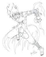 Jeung Chi: Uncolored by MysticYuna