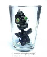 Ulikba the Shot glass troll by Dinuguan