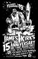 James T. Kirks Poster by tsieben