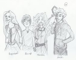 The Big Four? by mintychocolatelover