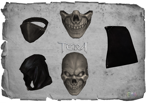 TERA - Assassin items by Tiffli
