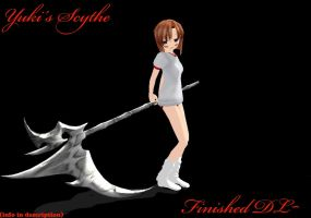 Vampire Knight, Yuki's scythe Download by cristle1235