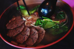 Taiwanese Beef Noodle Soup (: by stephkc