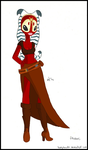 Shaak Ti's New Outfit by ladykenobi