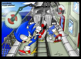 City Escape near death by sonicman88