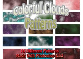 colorful clouds patterns by sancha310sp