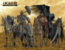 Horsemen in color... by Bobann