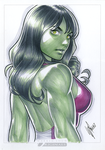 She Hulk by WarrenLouw