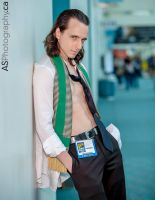 Sexy Loki, SDCC 2013 by CRETE