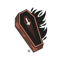 Coffin by artcoreillustrations