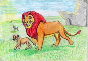 Lion King by Arjello