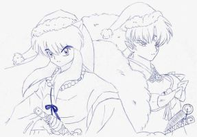 Brothers At Christmas Time by usagisailormoon20