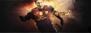 Messi Is Awesome by HeshamGFXER