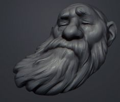 Mobile Sketch: Wind by polyphobia3d