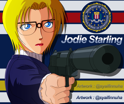 Jodie Starling , FBI Agent Specially In Japan! by uchiha-nuha