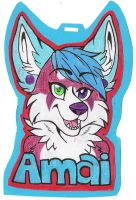 [AT] Amai Badge by LexiCakes