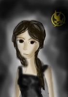 Katniss Everdeen by JudytaDragon