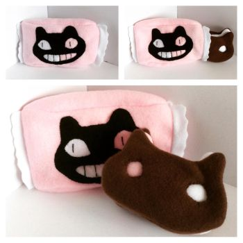 Cookie Cat Plush with Wrapper by FandomFactoryPlushes