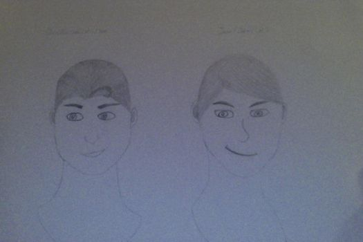 Finn and Jean first sketch by HTTYD-MC-PL-Twilight