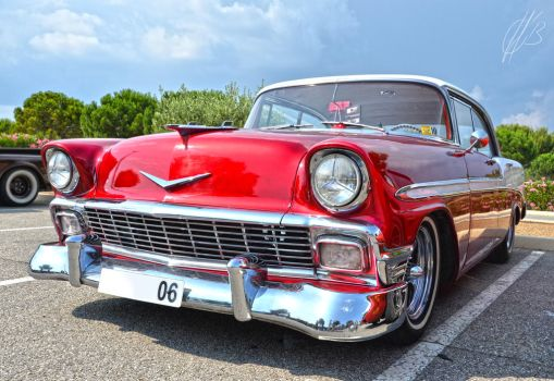 Joe's '56 Bel Air by Celia-H