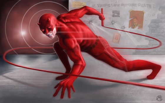 Daredevil Ready to Attack by embrand78