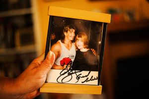 My Mother and Eddie Guerrero by servilonus